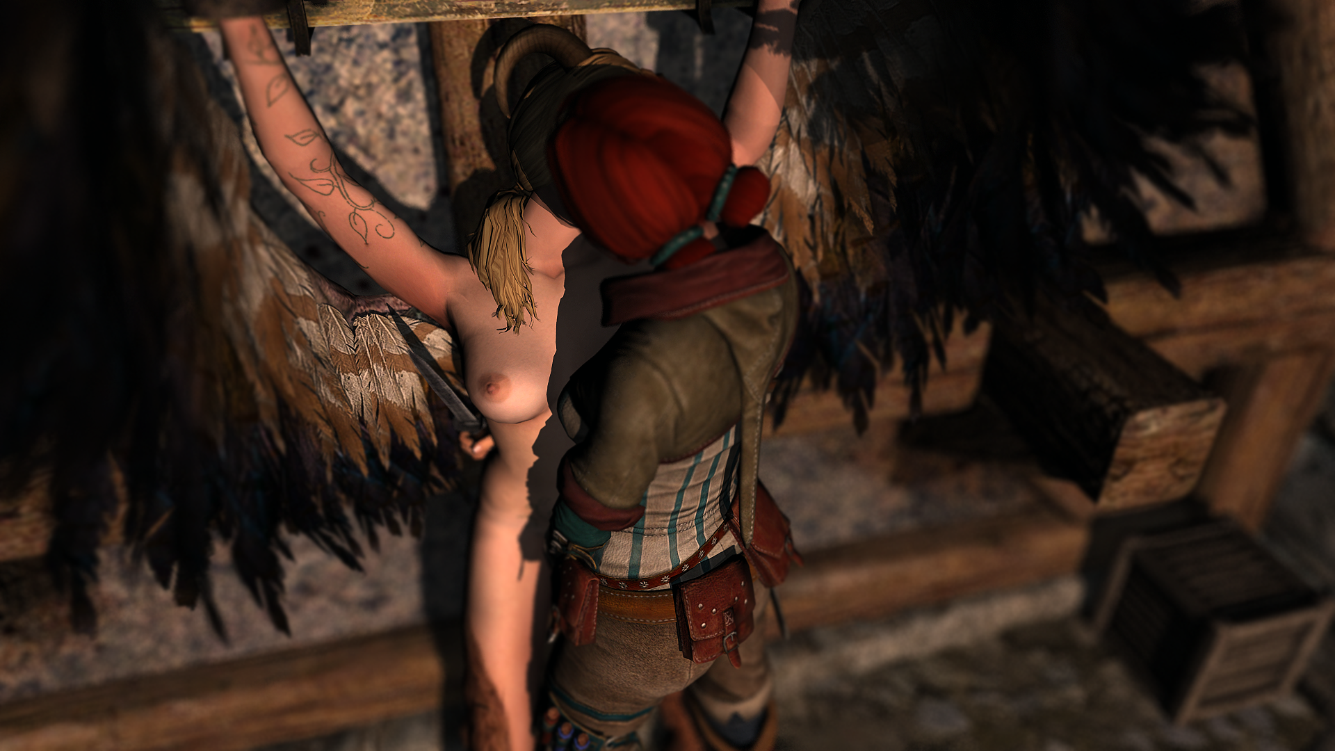 The witcher lesbian hentai sexual image