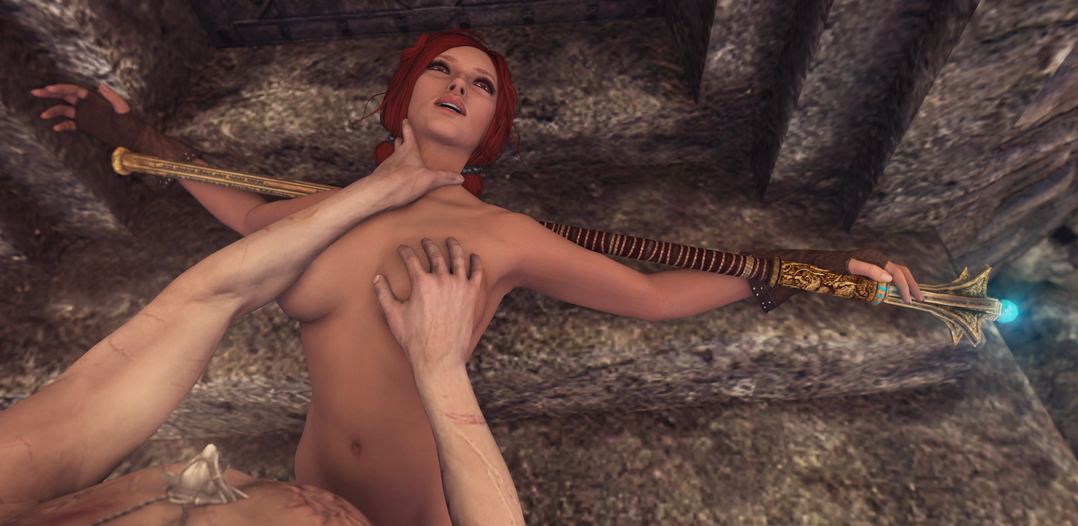 the witcher girls nude