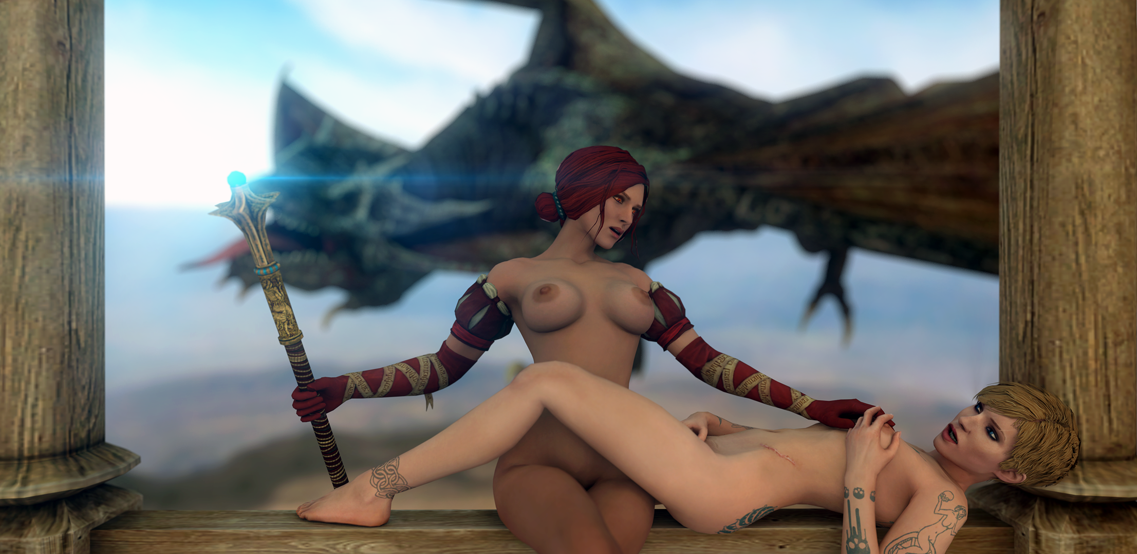 Witcher 2 nude mods erotica picture