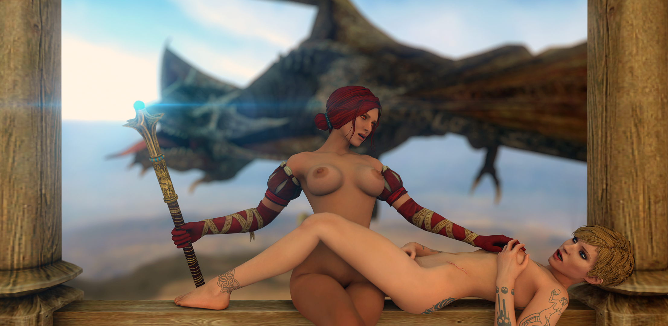 Witcher 2 nude mode naked scenes