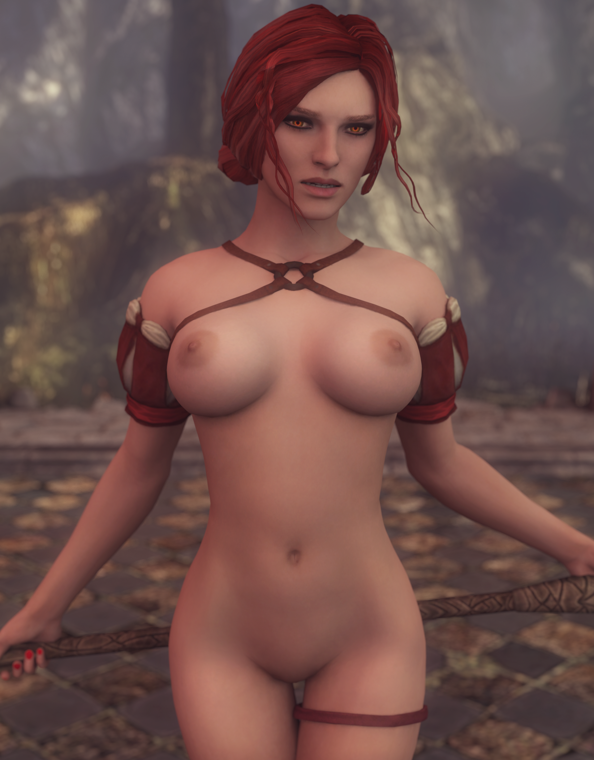 Witcher nude sexy butt