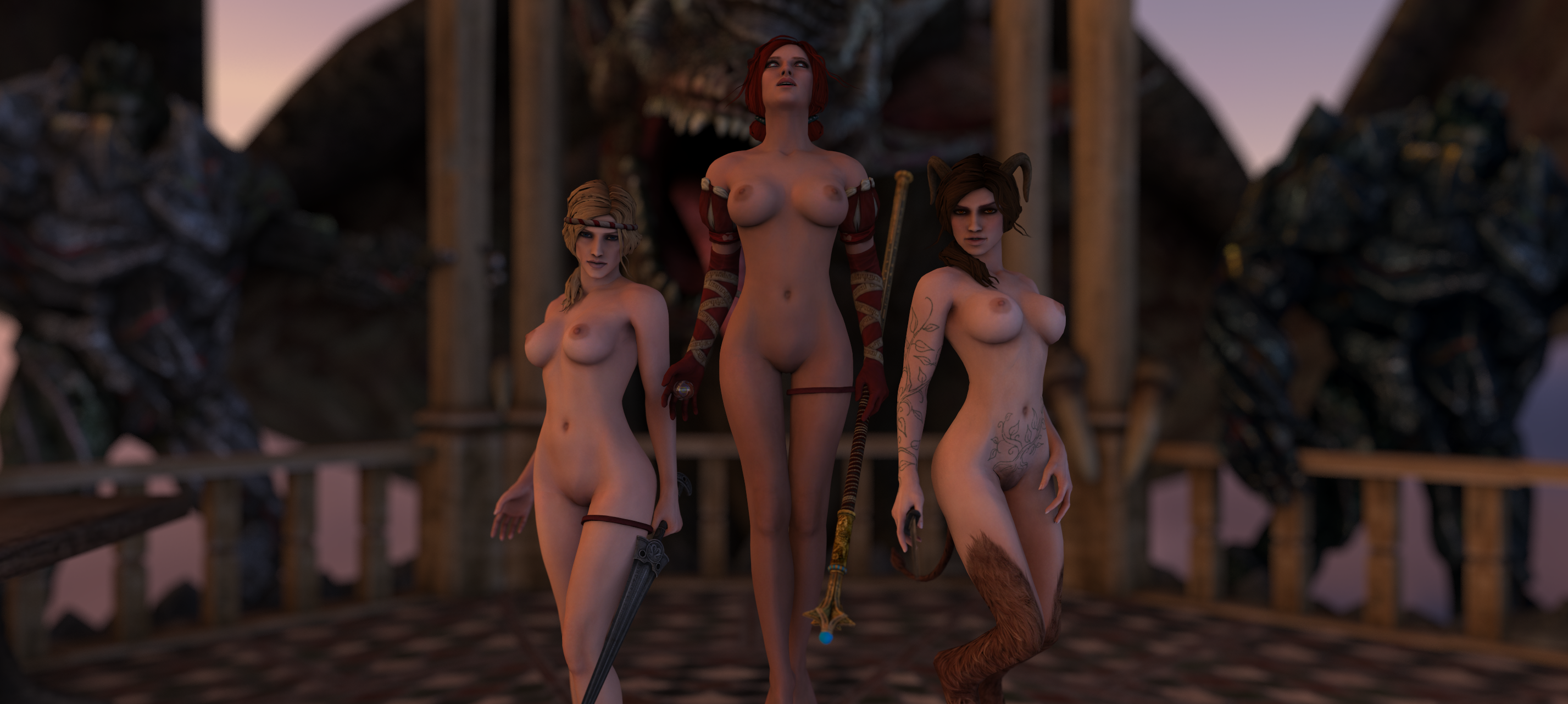 The witcher 2 xxx mods porn women
